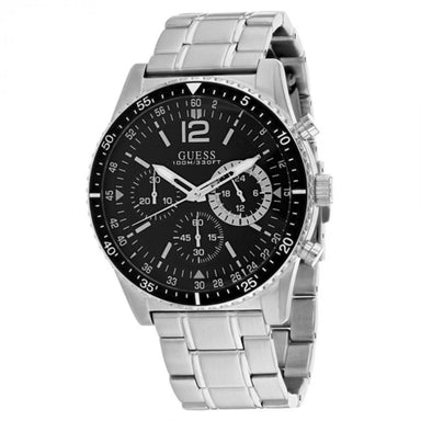 Guess Launch Quartz Chronograph Stainless Steel Watch U1106G1