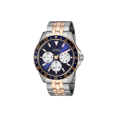 Guess Casual Quartz Chronograph Two-Tone Stainless Steel Watch U1107G3