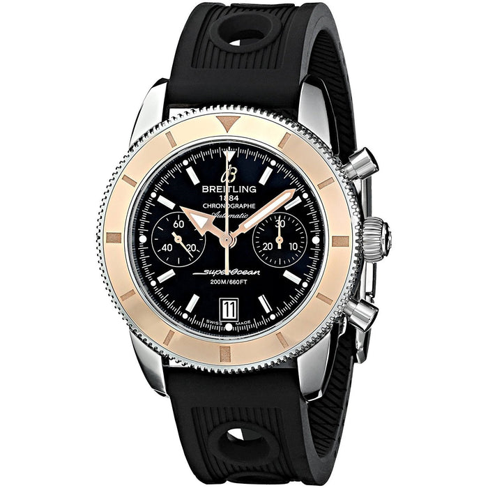 Breitling Superocean Automatic Automatic Chronograph Black Rubber Watch U2337012-BB81RU