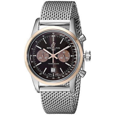 Breitling Transocean Automatic Automatic Chronograph Stainless Steel Watch U4131012-Q600