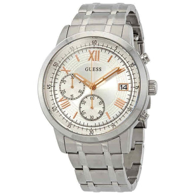 Guess Summit Quartz Chronograph Stainless Steel Watch W1001G1