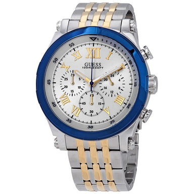 Guess Anchor Quartz Chronograph Two-Tone Stainless Steel Watch W1104G1