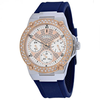 Guess Zena Quartz Blue Silicone Watch W1291L2