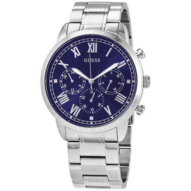 Guess Hendrix Quartz Stainless Steel Watch W1309G1