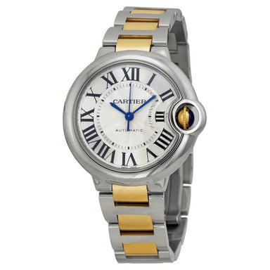 Cartier Ballon Bleu Automatic 18kt Yellow Gold Automatic Two-Tone Stainless Steel Watch W2BB0002