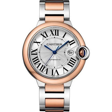 Cartier Ballon Bleu De Cartier Automatic Two-Tone Stainless Steel Watch W2BB0004