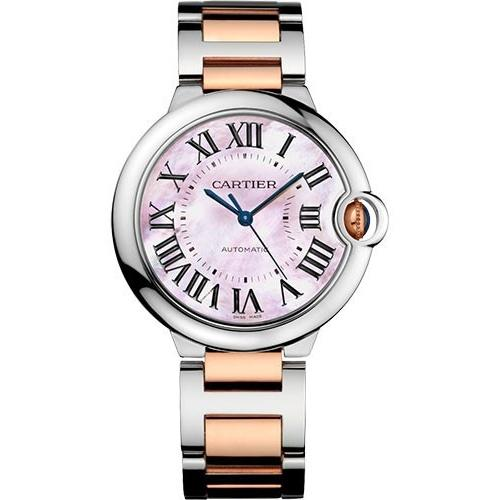 Cartier Ballon Bleu Automatic Two-Tone Stainless Steel Watch W2BB0011