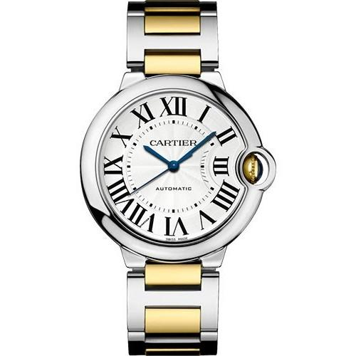 Cartier Ballon Bleu Automatic Two-Tone Stainless Steel Watch W2BB0012