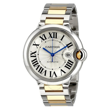 Cartier Ballon Bleu Automatic 18kt Yellow Gold Automatic Two-Tone Stainless Steel Watch W2BB0022