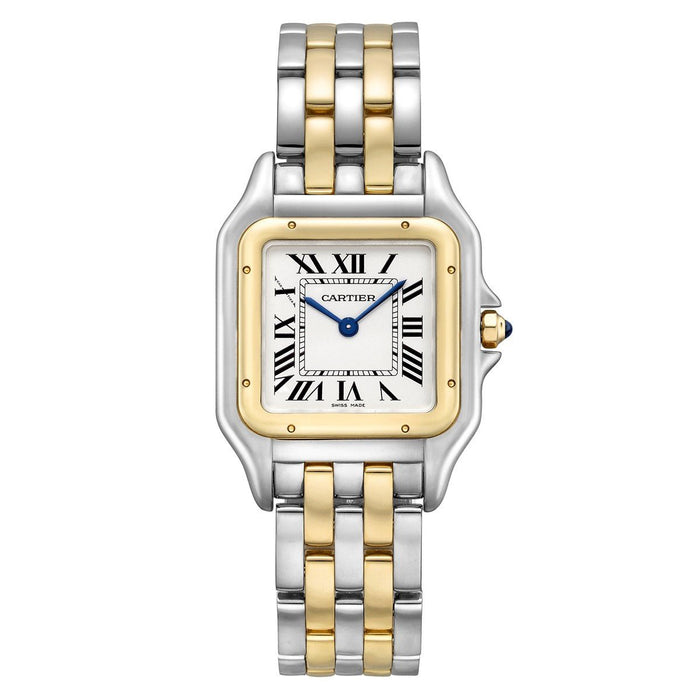 Cartier Panthere De Cartier Quartz Two-Tone Gold-Tone and Stainless Steel Watch W2PN0007