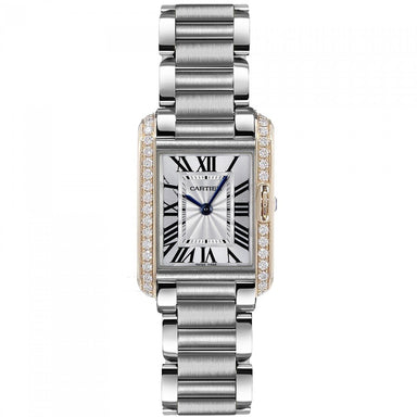 Cartier Tank Quartz Stainless Steel Watch W3TA0002