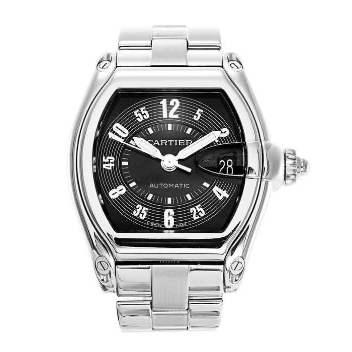 Cartier Roadster Automatic Stainless Steel Watch W62001V3
