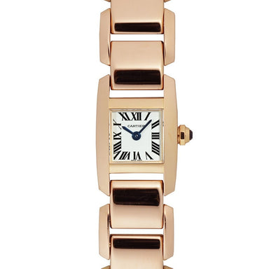 Cartier Tankissime Quartz Rose Gold-Tone Stainless Steel Watch W650018H