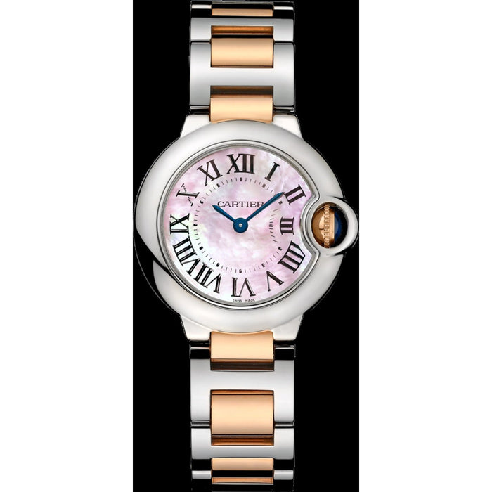 Cartier Ballon Bleu de Cartier Quartz Two-Tone Stainless Steel Watch W6920034