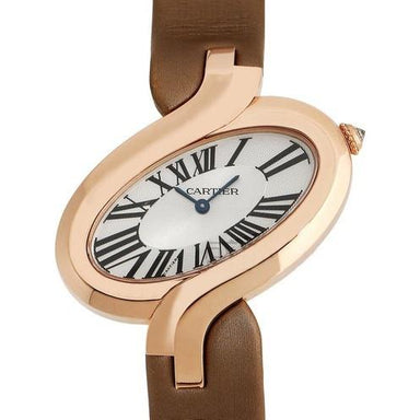 Cartier Delices De Cartier Quartz Brown Synthetic Watch W8100011