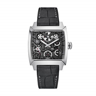Tag Heuer Monaco Limited Edition Quartz Automatic Anthracite Alligator leather Watch WAW2080.FC6288
