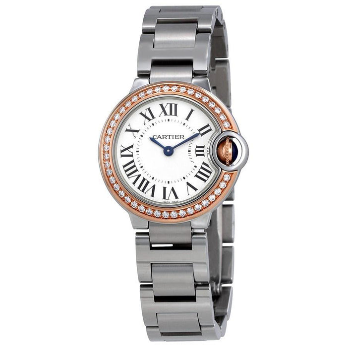 Cartier Ballon Bleu Automatic Stainless Steel Watch WE902079