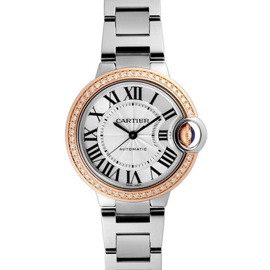 Cartier Ballon Bleu Automatic Stainless Steel Watch WE902080