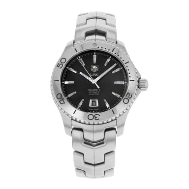 Tag Heuer Link Calibre 5 Automatic Automatic Stainless Steel Watch WJ201A.BA0591