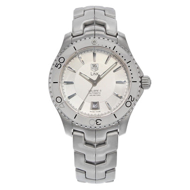 Tag Heuer Link Calibre 5 Automatic Automatic Stainless Steel Watch WJ201B.BA0591