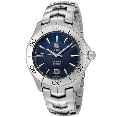 Tag Heuer Link Calibre 5 Automatic Automatic Stainless Steel Watch WJ201C.BA0591