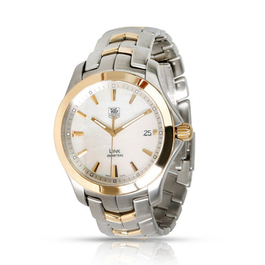 Tag Heuer Link Quartz Two-Tone 18kt Gold And Stainless Steel Watch WJF1152.BB0579