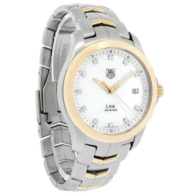Tag Heuer Link Quartz Two-Tone Stainless Steel Watch WJF1153.BB0579
