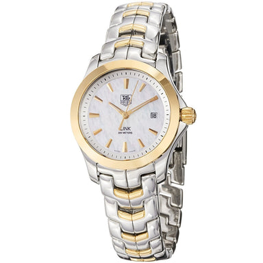Tag Heuer Link Quartz 18kt Yellow Gold Two-Tone Stainless Steel and Gold Watch WJF1352.BB0581