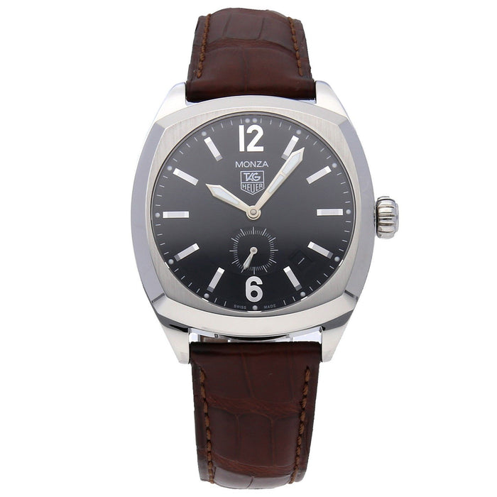 Tag Heuer Monza Quartz Brown Leather Watch WR2110.FC6165
