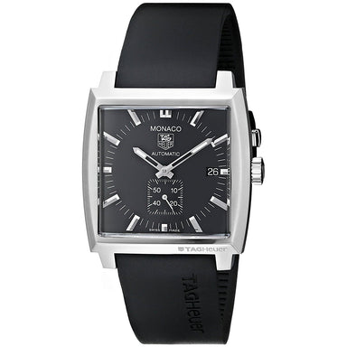 Tag Heuer Monaco Automatic Automatic Black Rubber Watch WW2110.FT6005