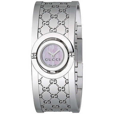 Gucci Twirl Quartz Stainless Steel Watch YA112510