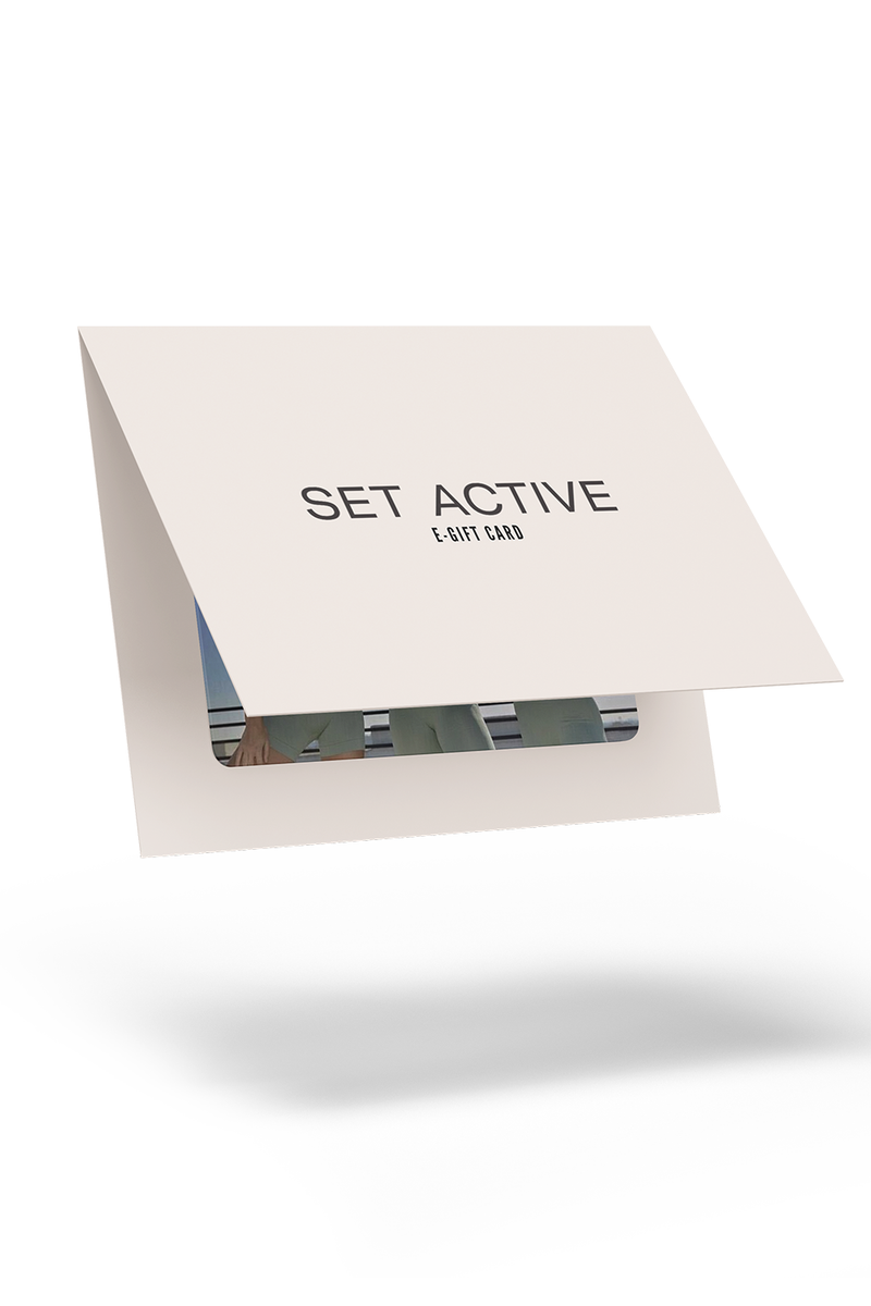 SET ACTIVE Gift Card