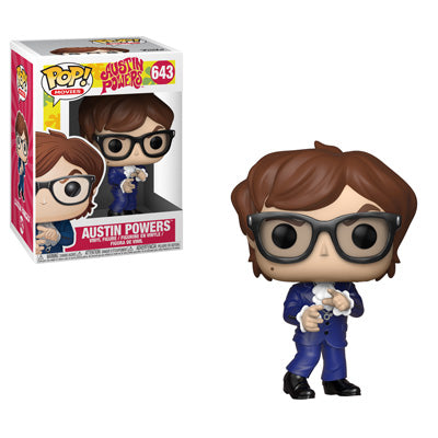 Sept 18th, 2018: Austin Powers Pops!