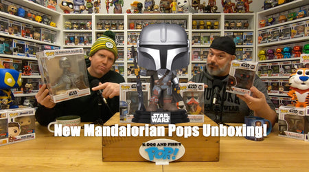 New Mandalorian Pops Unboxing