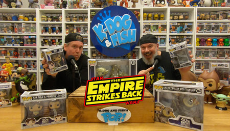 Empire Strikes Back 40th - Funko Pop Review!