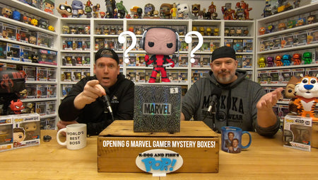 Opening 6 Marvel Gamer MYSTERY BOXES!