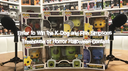 SIMPSONS TREEHOUSE OF HORROR GIVEAWAY!
