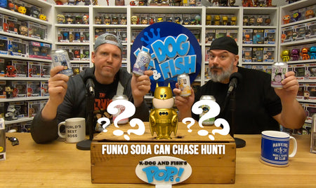 Funko Soda Can Chase Hunt!
