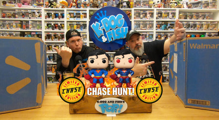 Super-Sized Superman Chase Hunt!