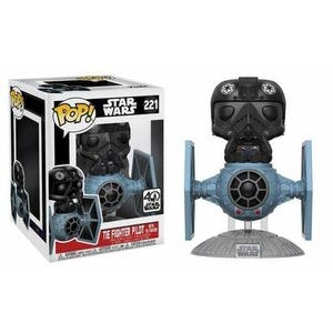 STAR WARS - TIE FIGHTER PILOT (WITH TIE FIGHTER) 40TH ANNIVERSARY