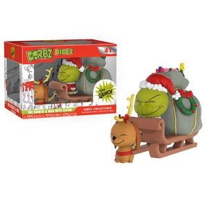 DORBZ RIDEZ - THE GRINCH & MAX WITH SLEIGH