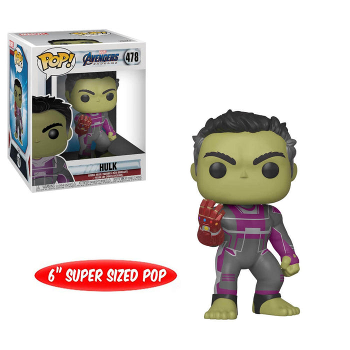 "AVENGERS: ENDGAME (WAVE 2) - HULK WITH INFINITY GAUNTLET (6"")"