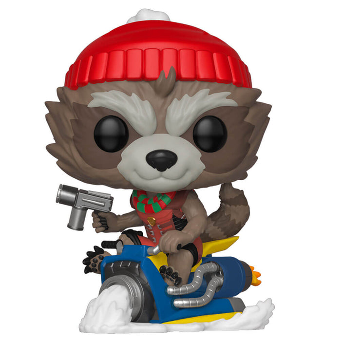 MARVEL: HOLIDAY - ROCKET (WITH SLED)