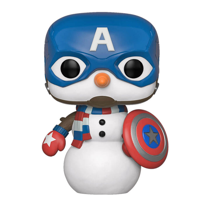 MARVEL: HOLIDAY - CAPTAIN AMERICA (SNOWMAN)