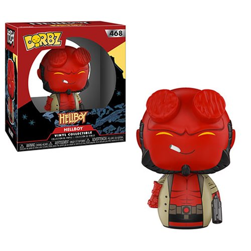 DORBZ - HELLBOY (LIMITED EDITION 5000 PCS)