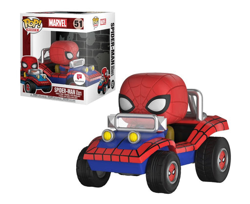 MARVEL: SPIDER-MAN WITH SPIDER MOBILE (POP RIDES) (EXCLUSIVE)