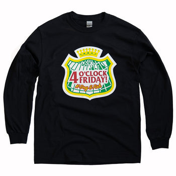 K-DOG & FISH: LONGSLEEVE SHIRT - 4 O'CLOCK FRIDAY
