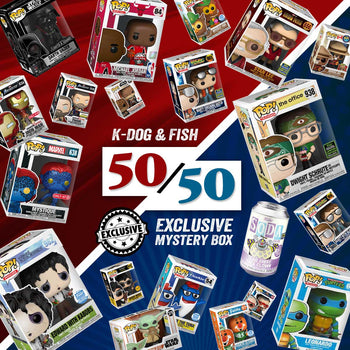 K-DOG & FISH: 50/50 EXCLUSIVE MYSTERY BOX (SOLD OUT)