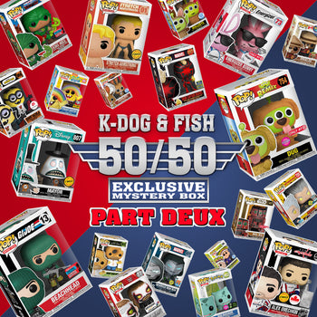 K-DOG & FISH: 50/50 EXCLUSIVE MYSTERY BOX ~ PART DEUX! (SOLD OUT)