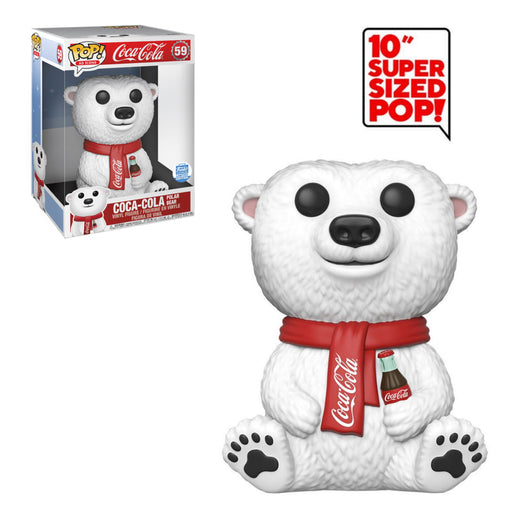 "AD ICONS - COCA-COLA - POLAR BEAR (10"") (EXCLUSIVE)"